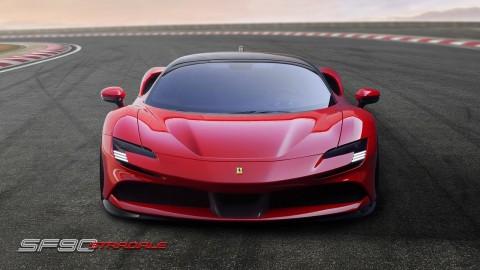 Ferrari Usung Teknologi Hybrid di SF90 Stradale
