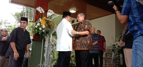 Prabowo Tiba di Cikeas