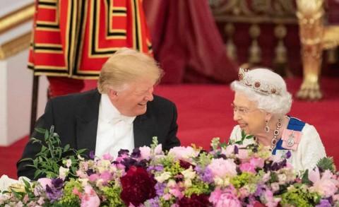 Jamuan Mewah untuk Trump di Istana Buckingham