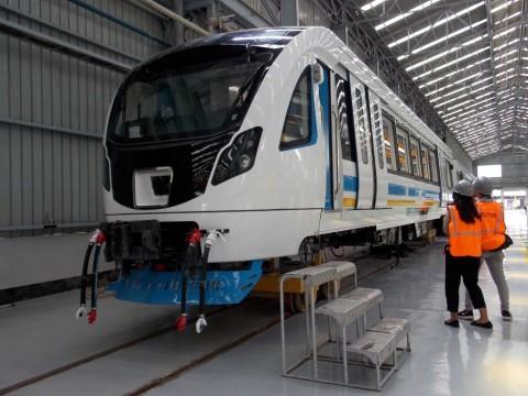 7 Juni, Operasional LRT Sumsel Ditambah Jadi Enam Perjalanan