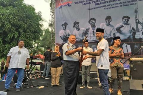 Shaggydog Rayakan Ulang Tahun Bersama Narapidana