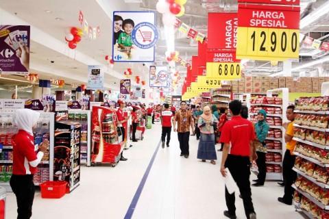 Penjualan Carrefour Terdongkrak Teknologi <i>Blockchain</i>