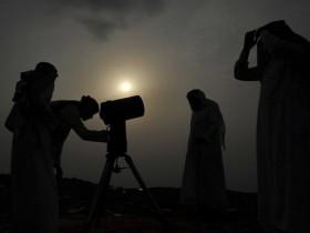 Arab Saudi Rayakan Idulfitri Hari Ini