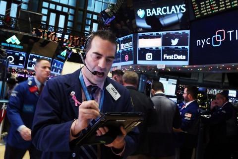 Saham Wall Street Melonjak