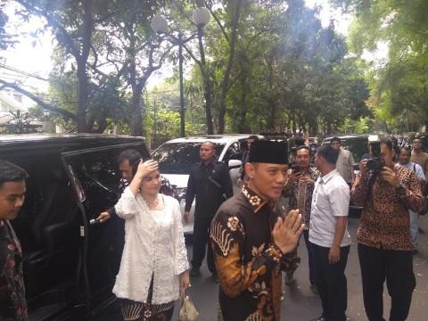 AHY Silaturahmi ke Rumah Megawati