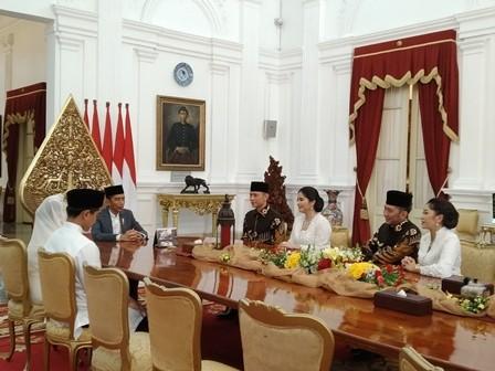 AHY Terima Kasih Kepada Jokowi