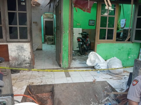 Dua Terluka Akibat Ledakan Tabung Plastik di Blitar