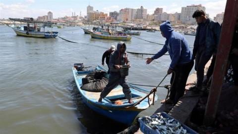 Israel Longgarkan Zona Nelayan Gaza Saat Idulfitri