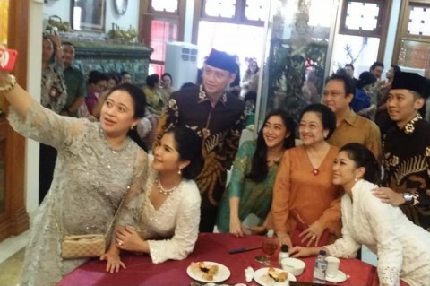 AHY dan Ibas Silaturahmi ke Kediaman Megawati