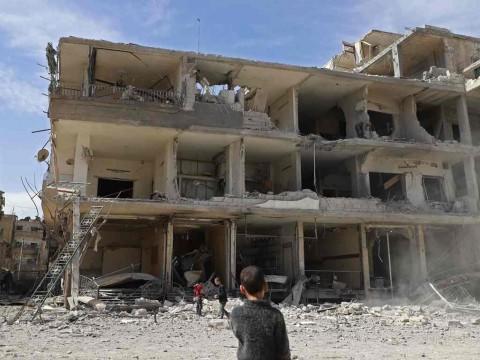 Serangan Saat Idulfitri, 10 Warga Suriah Tewas