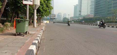 H+1 Lebaran Jakarta Masih Lengang