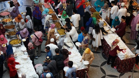 Ketupat Sayur, Menu Lebaran WNI di Singapura