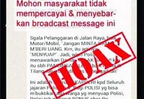 Polisi Klarifikasi Hoaks Kecelakaan Beruntun di Ruas Tol Semarang