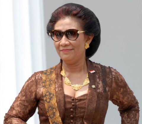 Susi Pudjiastuti Siap Jadi Menteri di Pemerintahan Jokowi Jilid II
