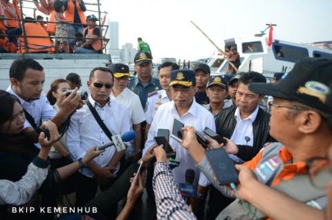 Menhub Kritisi Penjualan Tiket Manual di Pelabuhan Kaliadem