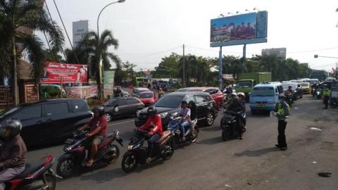H+2 Lebaran Jalur Pantura Cirebon Merayap