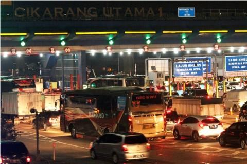 Polda Metro Siaga di Titik Kemacetan Tol Cikampek