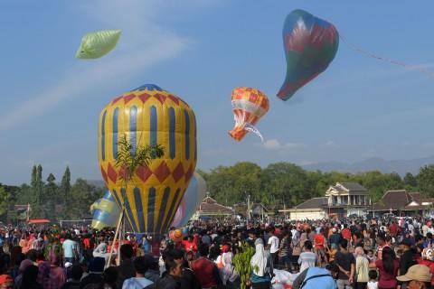 11 Balon Udara Liar Bahayakan Penerbangan di Yogyakarta