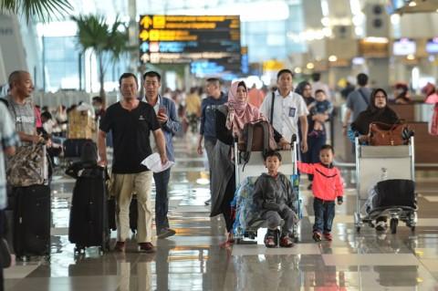 185.000 Pemudik Memadati Bandara Soetta Pada H+3