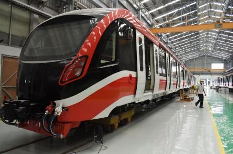 LRT Jakarta Kembali Uji Coba Publik