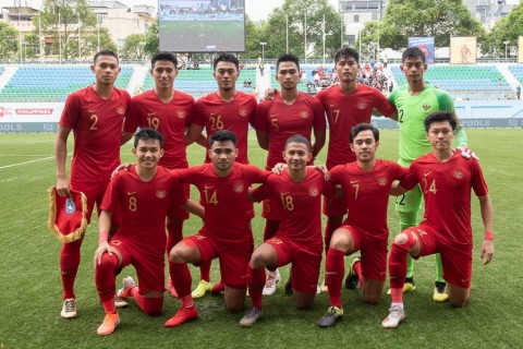 Timnas Indonesia U-23 Hujani Gol Gawang Filipina