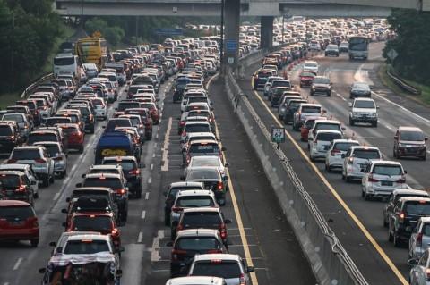 451 Ribu Kendaraan Kembali ke Jakarta