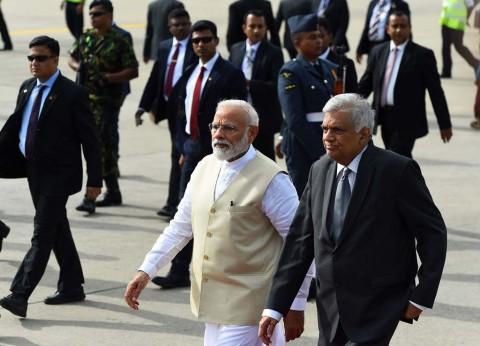 PM India Kunjungi Gereja Target Bom di Sri Lanka