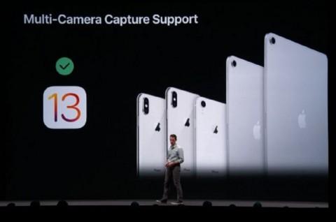 Apple Aktifkan Dukungan Banyak Kamera di iOS 13
