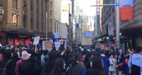 Protes RUU Ekstradisi Tiongkok Meluas Hingga Sydney
