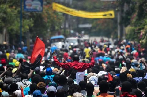 Ribuan Warga Desak Pengunduran Diri Presiden Haiti