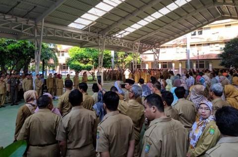 Ratusan PNS Kota Tangerang Bolos Saat Hari Pertama Kerja