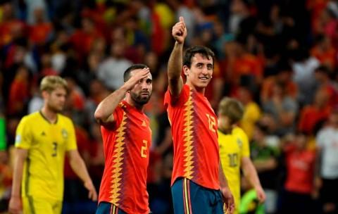 Striker Sociedad Cetak Gol Debut untuk Spanyol
