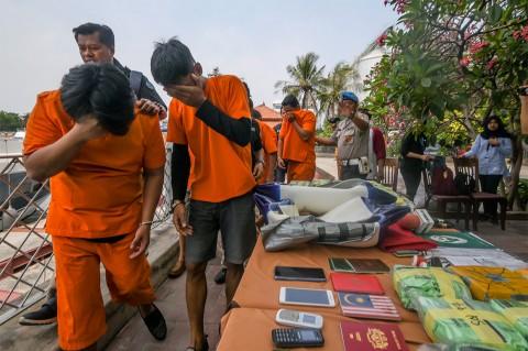 Polisi Gagalkan Penyelundupan 37 Kg Sabu