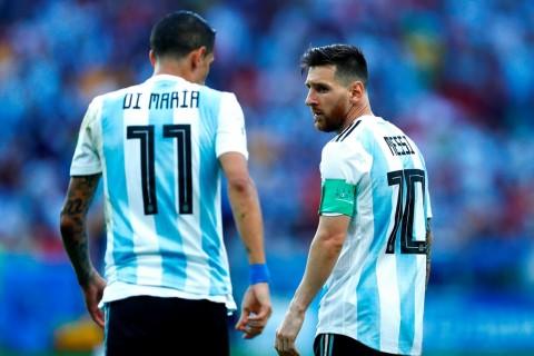 Demi Bermain dengan Messi, Di Maria Ingin Pindah Ke Barcelona