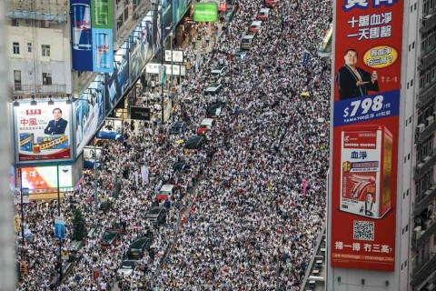 Ribuan Warga Hong Kong Rencanakan Mogok Kerja