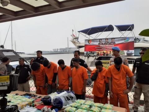 37 kg Sabu dari Malaysia Diselundupkan Melalui Kapal Pesiar
