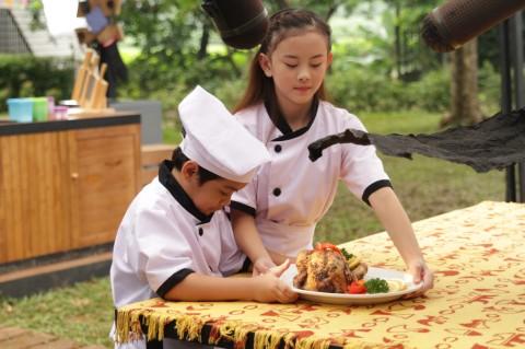 Clarice Cutie Ungkap Tingkah Usil Adhiyat Selama Syuting Koki Koki Cilik 2