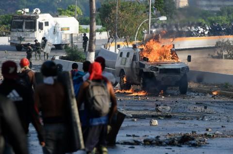Venezuela Tangkap 17 Orang atas Percobaan Kudeta