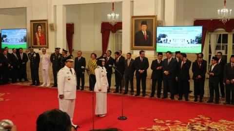 Presiden Lantik Gubernur Lampung