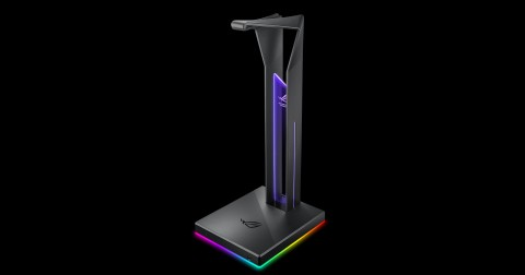 ASUS ROG Throne Qi, Gantungan Headset Sekaligus Wireless Charger