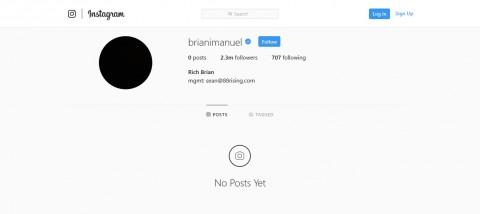 Rich Brian Hapus Semua Unggahan Instagram