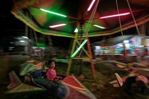 Wahana Komidi Putar di Jakarta Fair Kurang Pengawasan