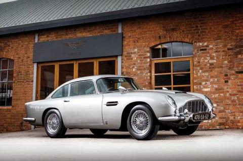Aston Martin Goldfinger-spec DB5 James Bond Bakal Incaran Kolektor