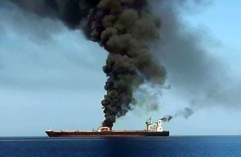 Iran Curigai Serangan Tanker di Tengah Kunjungan PM Jepang