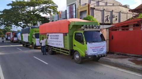 Pupuk Indonesia Grup Salurkan Bantuan Korban Banjir di Sulawesi