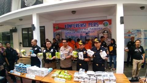 Polisi Gagalkan Penyelundupan 31 Kg Sabu dari Malaysia