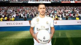 Real Madrid Resmi Perkenalkan Eden Hazard