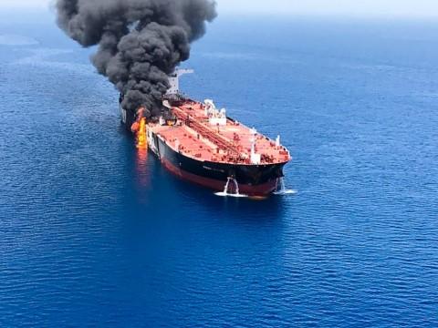 Iran Bantah Tuduhan AS Serang Kapal Tanker