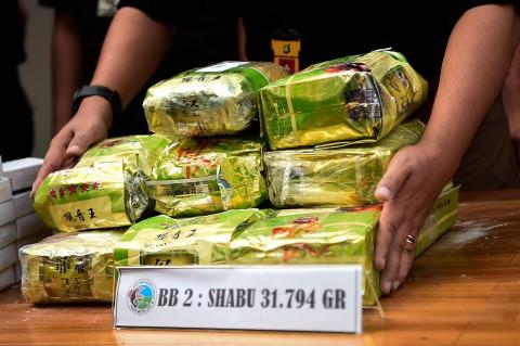 Selundupkan 31,794 Kg Sabu, 2 WN Malaysia Diringkus