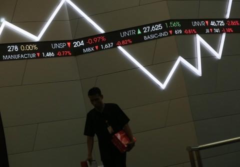 Indeks Acuan Saham Indonesia Diramal Tertekan